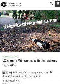 Eimsbütteler Nachrichten Cleanup EimsV